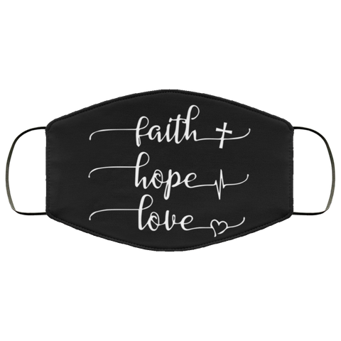 FAITH LOVE HOPE Second batch mask