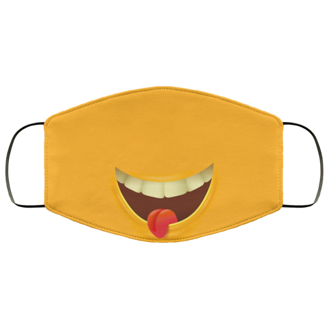 funny emoji Second batch mask