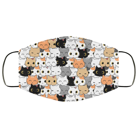 Cats pattern Face Mask