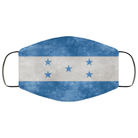 Honduras Grunge Flag	Fifth Face Mask