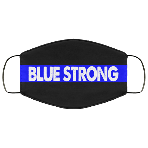 blue strong Face Mask