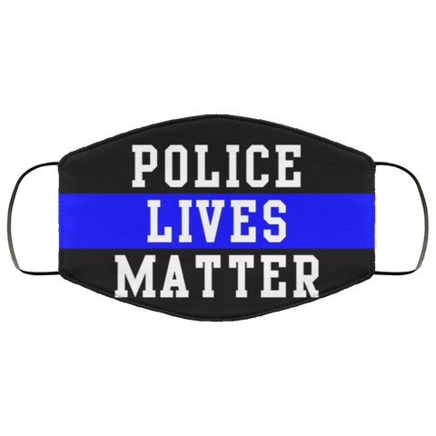 Police Lives Matter Face Mask