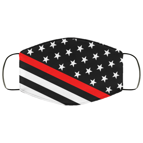 thin red lines Second batch mask