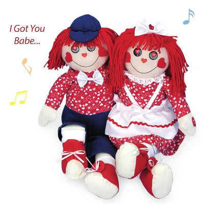 "Rag Doll Duet - Sing and Sway to ""I Got You Babe"""