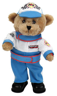 "Racecar bear dances while singing, ""Born to Be Wild"".℗"