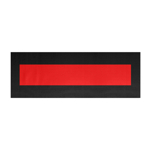 Thin Red Line Yoga Mat