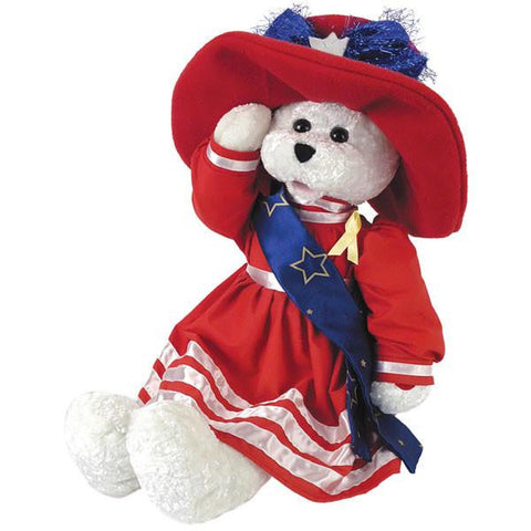 "Betsy Patriotic Bear Sings: ""God Bless America"""