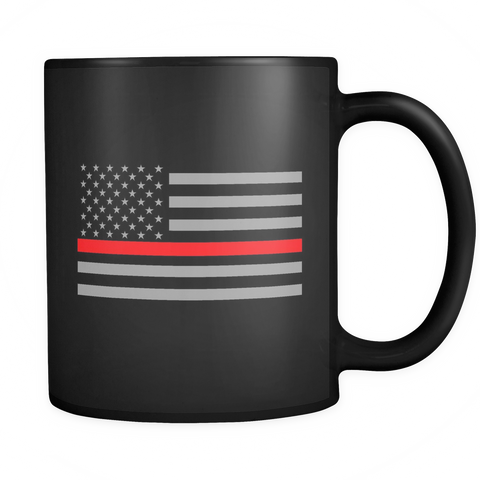Thin Blue Line Flag Mug