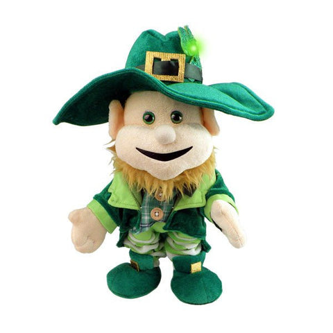 "12"" Too-Ra Loo-Ra Leprechaun Plush"