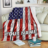 usa flag- blanket