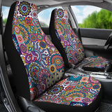 Ethnic mandala- car seats