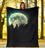 full moon- blanket