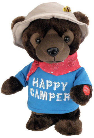 "12"" Happy Camper Bear"