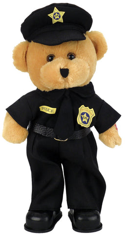 "Police Officer Bear dances while singing, ""Bad Boys"".℗"