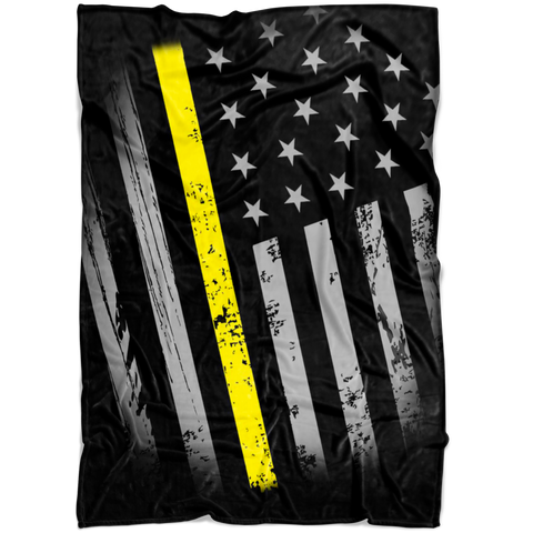 Etsy - thin yellow line blanket