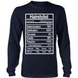 Hairstylist Nutrition Statement Shirts