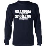 Grandma is my Name, Spoiling is My Game Statement Shirt