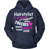 Hairstylists Touch Hearts Statement Shirts