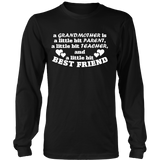 Grandmother - Parent, Teacher, Best Friend Statement Shirt