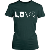 Law Enforcement Officer LOVE Statement Shirt