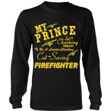 Firefighter's - My Prince Charming Statement Shirts
