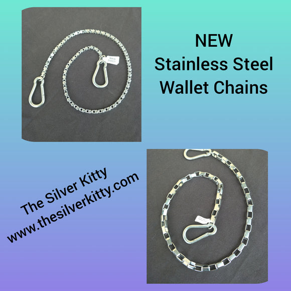 Stainless Steel Wallet Chains