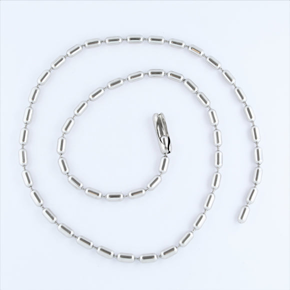 Stainless Steel Bar Chain 60cm