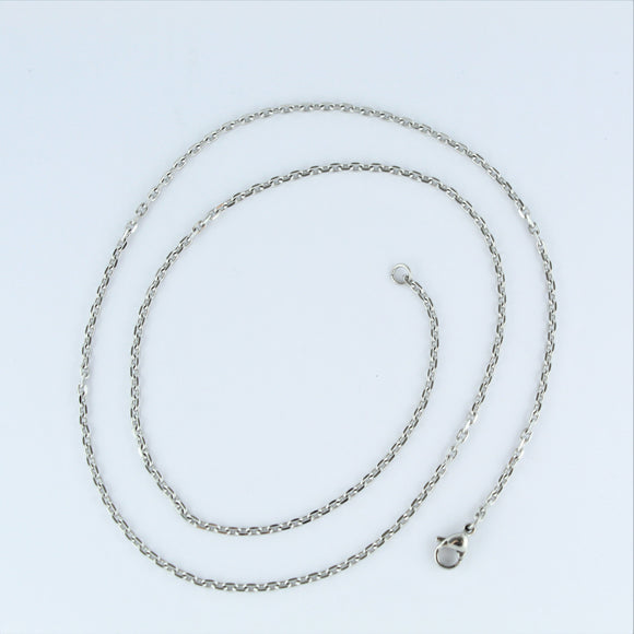 Stainless Steel Oval Chain 50cm