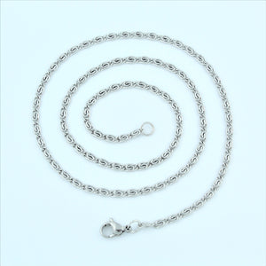 Stainless Steel Greek Chain 47cm