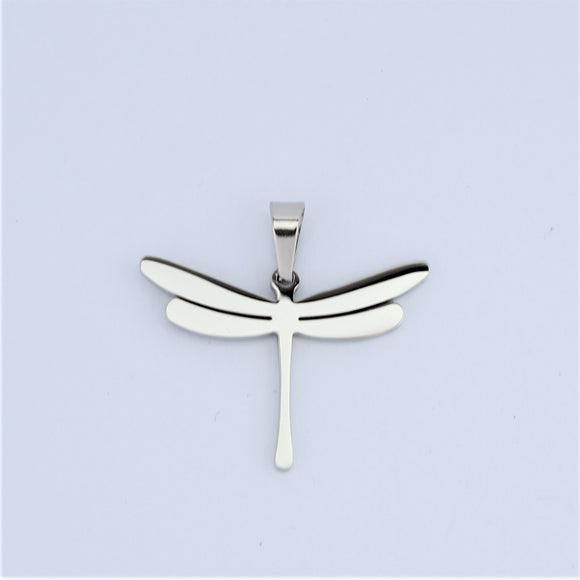 Stainless Steel Small Dragonfly Pendant