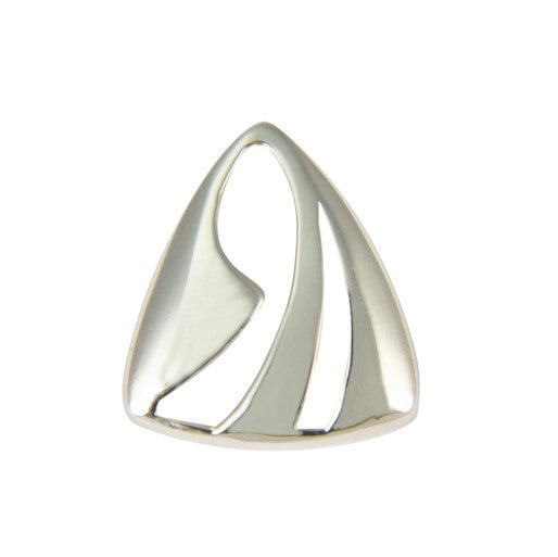 Sterling Silver Cut Out Triangle Pendant