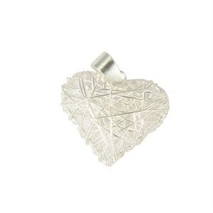 Sterling Silver Wire Heart Pendant
