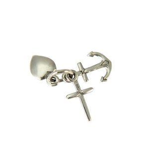 Sterling Silver Hope Faith & Charity Pendant
