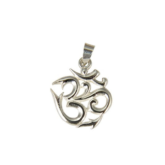 Sterling Silver OHM Pendant