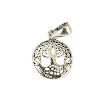 Sterling Silver Small Celtic Tree Of Life Pendant