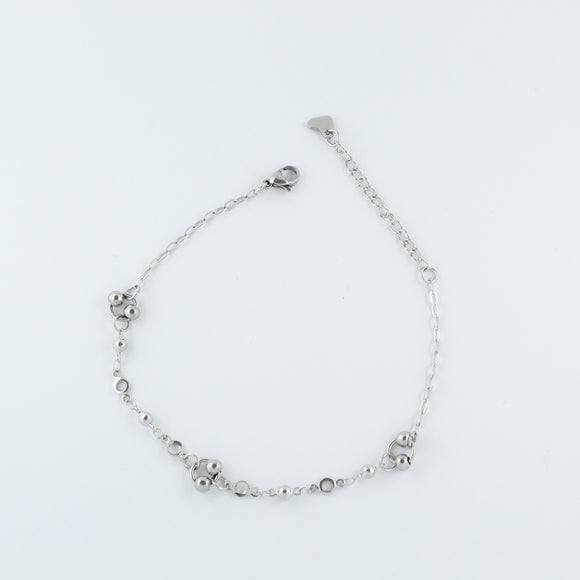Stainless Steel Ball Anklet