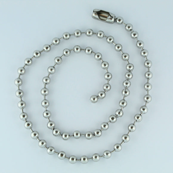 Stainless Steel Ball Chain 60cm