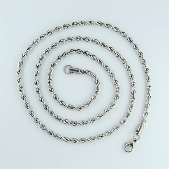Stainless Steel Rope Chain 76cm