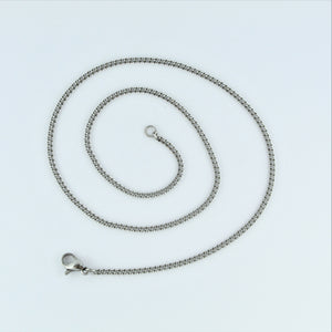 Stainless Steel Curb  Chain 40cm