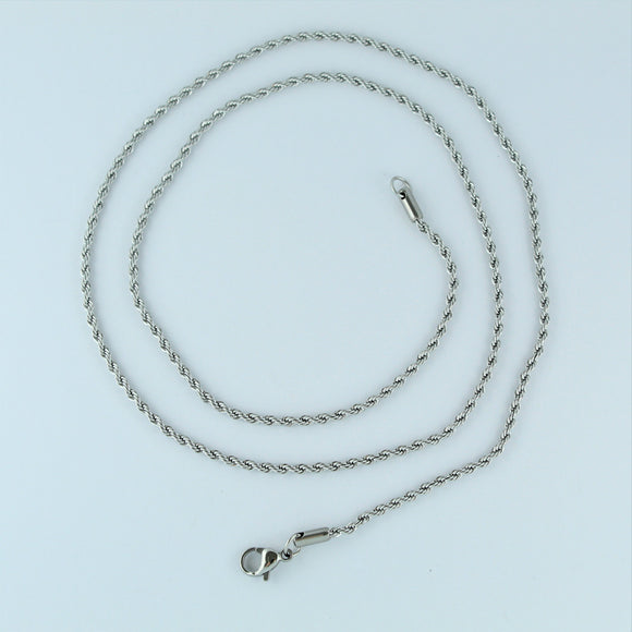 Stainless Steel Rope Chain 60cm