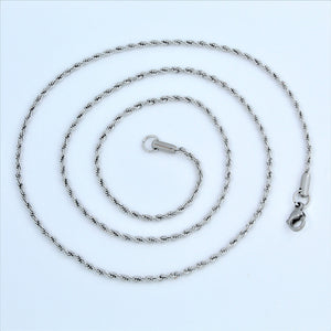 Stainless Steel Rope Chain 56cm
