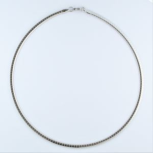 Stainless Steel Segment Collier 45cm