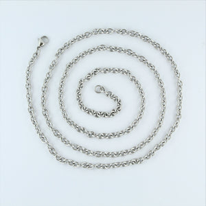 Stainless Steel Oval Chain 86cm
