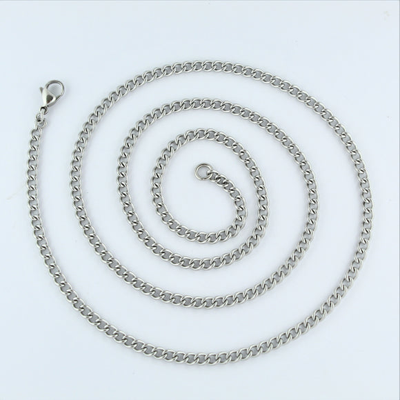 Stainless Steel Curb Chain 71cm