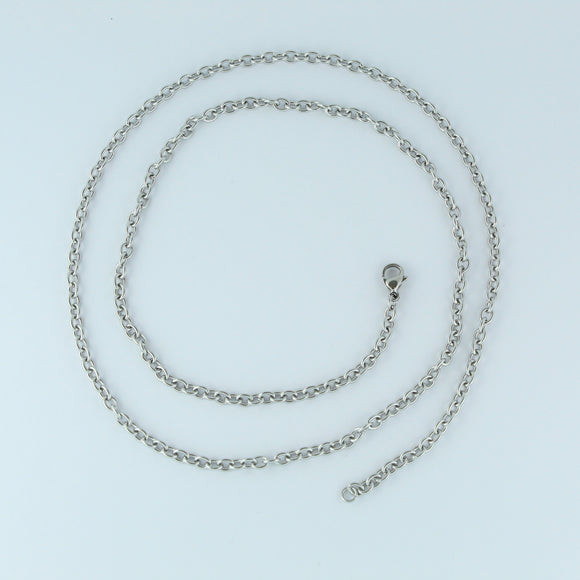 Stainless Steel Oval Chain 60cm