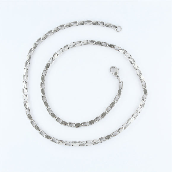 Stainless Steel Fancy Chain 55cm
