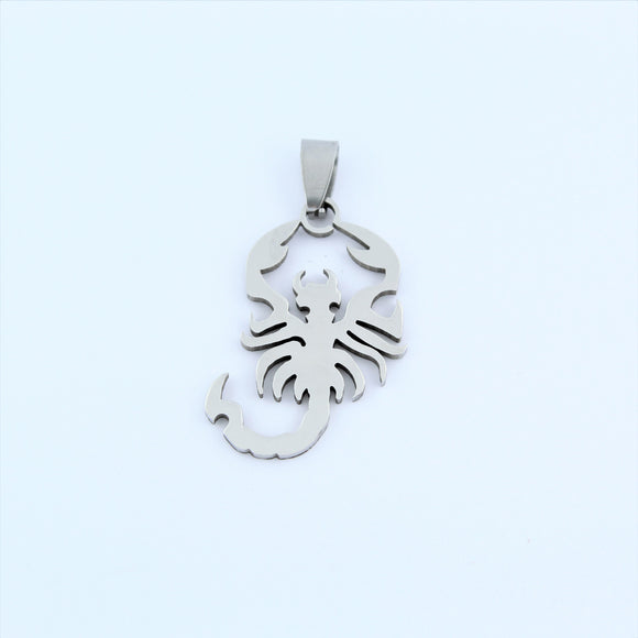 Stainless Steel Scorpion Pendant