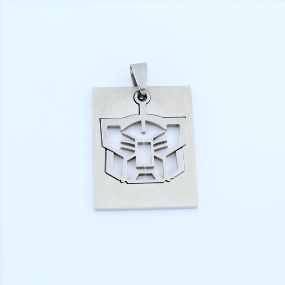 Stainless Steel Autobot Transformer Pendant
