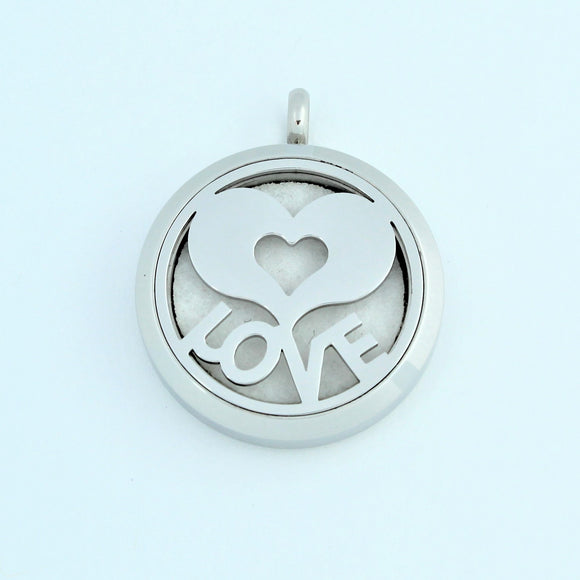 Stainless Steel Love Tree Scent Pendant