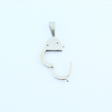 Stainless Steel Handcuff Pendant